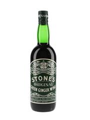 Stone's Original Green Ginger Wine Bottled 1970s 73.8cl / 13.7%