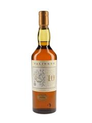 Talisker 10 Year Old Bottled 1990s - Map Label 70cl / 45.8%