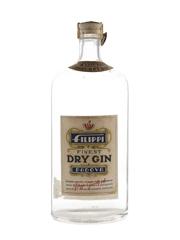 Filippi Padova Finest Dry Gin Bottled 1950s 100cl / 40%