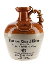 Munro's King Of Kings Bottled 1970s - Ceramic Decanter 75cl / 40%