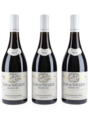 Clos de Vougeot 2015 Mongeard Mugneret 3 X 75cl / 13.5%