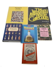 Assorted Scotch Whisky & Miniature Collector Books