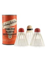 Johnny Walker Carlton Plastic Shuttlecocks