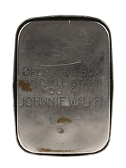 Johnnie Walker Vesta Match Case Puzzle 'Open This Box And I'll Stand You A Johnnie Walker'