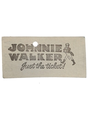 Johnnie Walker London Transport Bus Ticket Route 100
