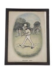 Johnnie Walker Sporting Print - Cricket 1820