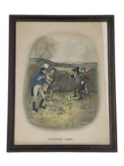 Johnnie Walker Sporting Print - Golfing 1820