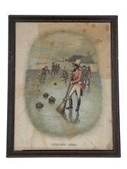 Johnnie Walker Sporting Print - Curling 1820