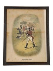 Johnnie Walker Sporting Print - Hunting 1820
