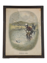 Johnnie Walker Sporting Print - Fishing 1820