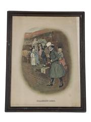 Johnnie Walker Sporting Print - Coaching 1820