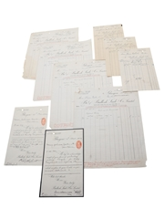 Bulloch Lade & Co. Invoices & Receipts, Dated 1900-1907