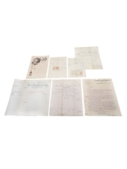 Assorted Correspondence & Invoices, Dated 1907-19