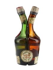 Benedictine Liqueur Two Part Bottle
