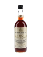 Pimm's No.3 Cup The Original Brandy Sling Bottled 1960s-1970s 75.7cl / 34%