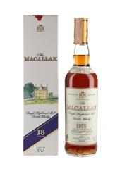 Macallan 1975 18 Year Old