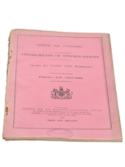 Patents for Inventions Class 21, Casks and Barrels 1855-1866