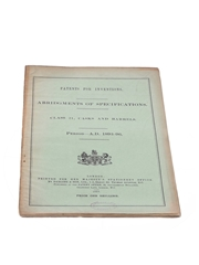 Patents for Inventions Class 21, Casks and Barrels 1893-1896