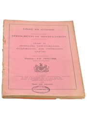 Patents for Inventions Class 32, Distilling, Concentration, Evaporation, and Condensing Liquids, 1855-1866