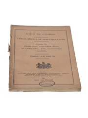 Patents for Inventions Class 32, Distilling, Concentration, Evaporation, and Condensing Liquids, 1867-1876