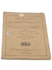 Patents for Inventions Class 32, Distilling, Concentration, Evaporation, and Condensing Liquids, 1877-1883