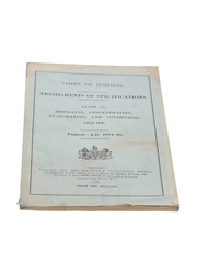 Patents for Inventions Class 32, Distilling, Concentration, Evaporation, and Condensing Liquids, 1884-1888