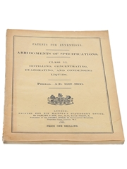 Patents for Inventions Class 32, Distilling, Concentration, Evaporation, and Condensing Liquids, 1897-1900
