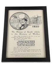 Johnnie Walker - The History of Scotch Whisky is the History of Walker