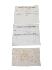 John Lyons & Co. Riverstown Distillery Invoices Dated 1846