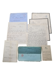 Rouyer, Guillet & Co. Correspondence, Purchase Receipts & Invoices, Dated 1886-1905