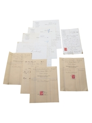Frank Bailey & Co. Correspondence, Invoices & Purchase Receipts, Dated 1886-1904