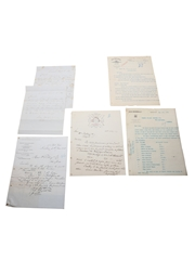 Assorted Correspondence Dated 1846-1907