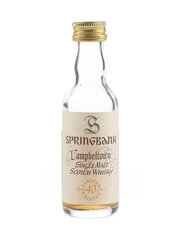 Springbank 40 Year Old