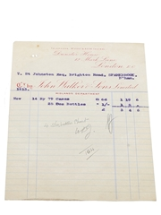 John Walker & Sons Limited Invoices, Dated 1913