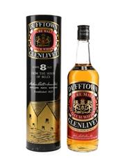 Dufftown Glenlivet 8 Year Old Bottled 1980s 75cl / 40%