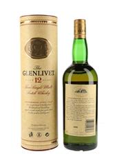 Glenlivet 12 Year Old Bottled 1990s-2000s 100cl / 40%