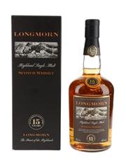 Longmorn 15 Year Old  70cl / 45%