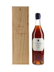 Baron De Sigognac 1952 Armagnac Bottled 2012 70cl / 40%