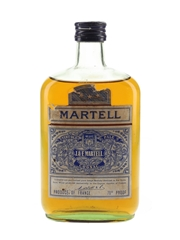 Martell 3 Star VOP Bottled 1950s 35cl / 40%