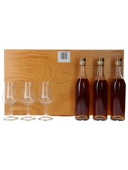 Hine Antique, Family Reserve & Triomphe  3 x 20cl / 40.6%