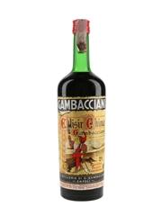 Gambacciani Elisir China Bottled 1950s 100cl / 21%