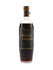 Amaro Fabbri Bottled 1950s 100cl / 19%