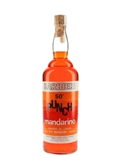 Barbieri Punch Mandarino Bottled 1980s 100cl / 50%
