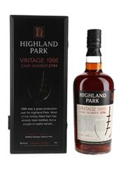 Highland Park 1986 Cask Number 2794  70cl / 56.2%