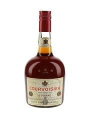 Courvoisier 3 Star Luxe Bottled 1970s - Duty Free 40%