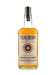 Teacher's Highland Cream Bottled 1970s 100cl / 43%