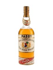 Paddy 10 Year Old Bottled 1960s - Shannon Airport 100cl