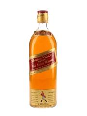 Johnnie Walker Red Label Bottled 1960s - Switzerland Import 75cl / 43%