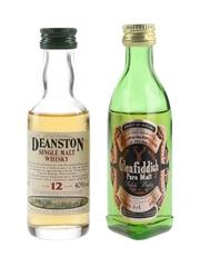Deanston 12 Year Old & Glenfiddich Pure Malt