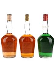 Rembrandt Curacao Liqueur Bottled 1960s-1970s 3 x 75cl / 29%